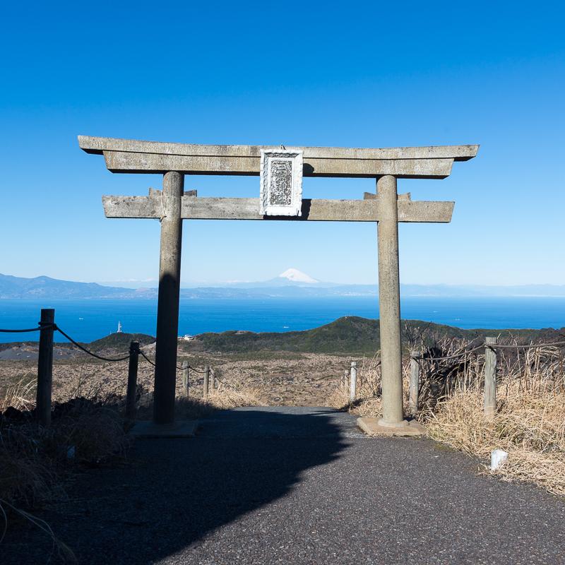式根島・伊豆大島旅行