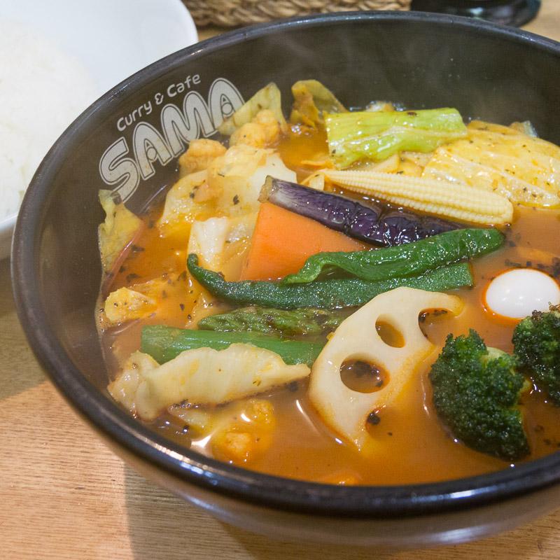 SAMAのスープカレー