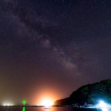 田代島の夜空