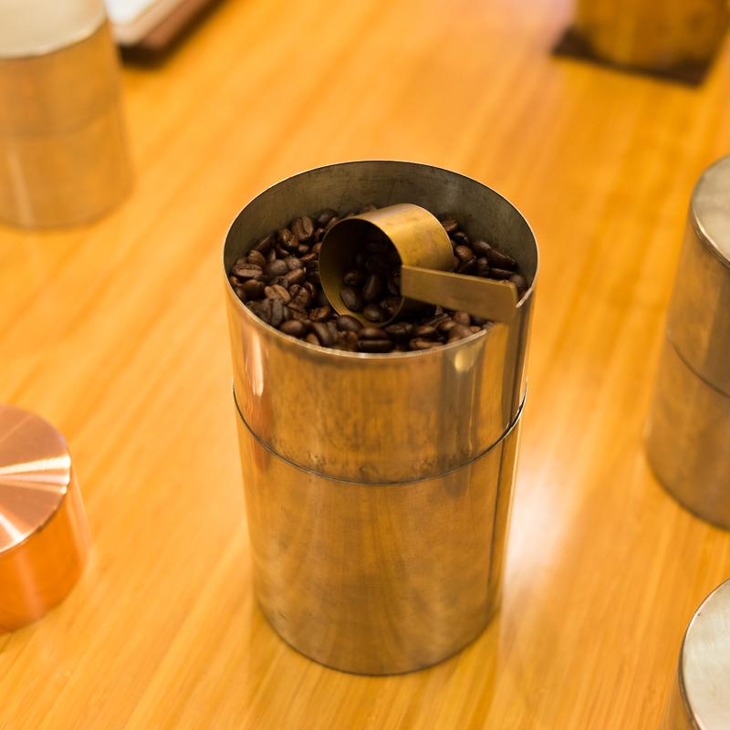 開化堂 茶筒とカフェと