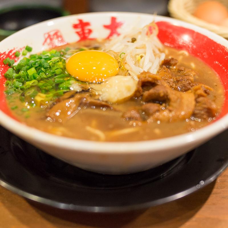 京都拉麺小路でラーメン東大