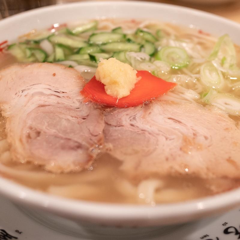 盛岡じゃじゃめん 小吃店でスープじゃじゃ麺