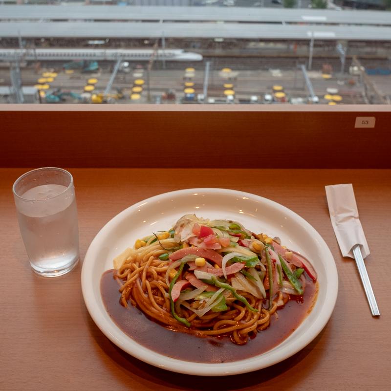 新幹線見放題!JRゲートタワーのチャオ