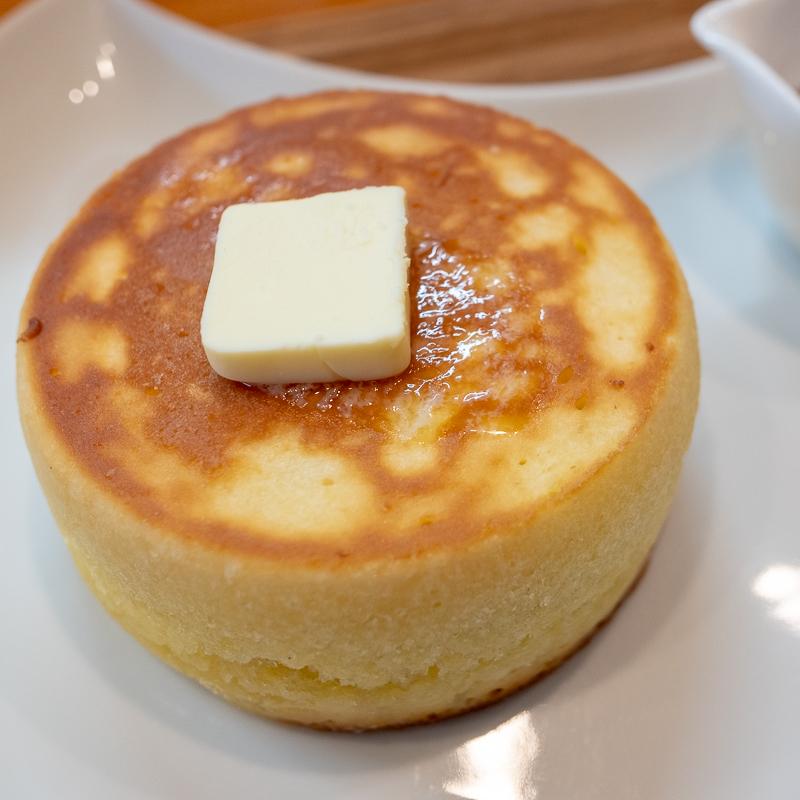 カフェマルのホットケーキ