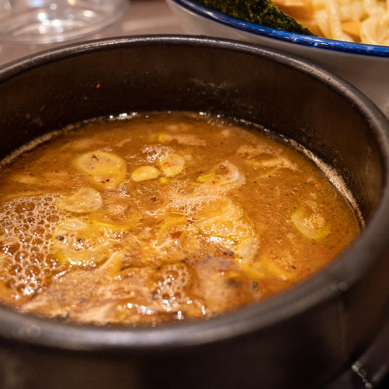 柏の兎に角でつけ麺