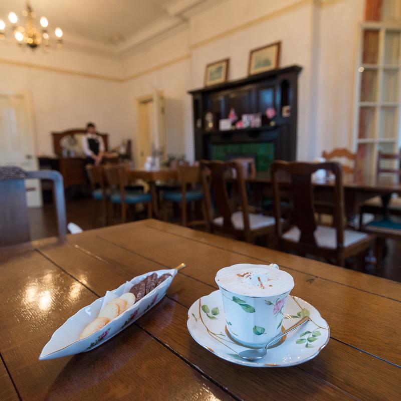 旧イギリス領事館のヴィクトリアンローズ